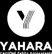 Yahara CPAs logo reversed